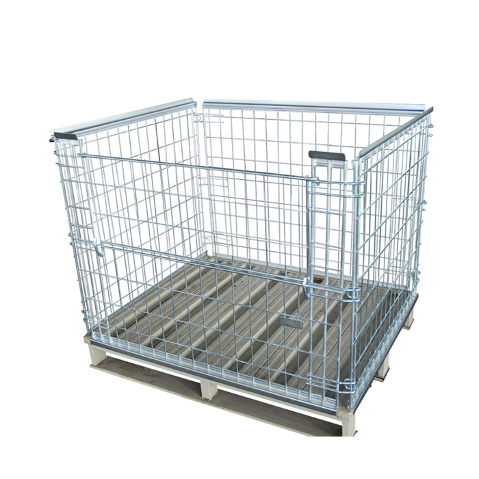 Pallet Cage for your Warehouse | Net-Railing HML Metal Products